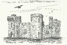 Antico castello inglese
